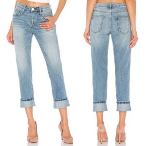 Current Elliott The Fling Cuffed Jeans